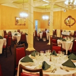 Banquet hall at Hotel Coolidge